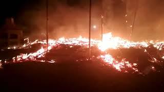 Взрыв в село Бостери. Сгорел ресторан!