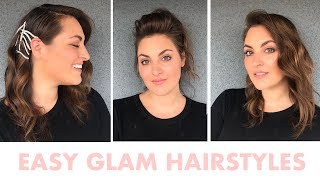 3 Easy Transitional Holiday Hairstyles
