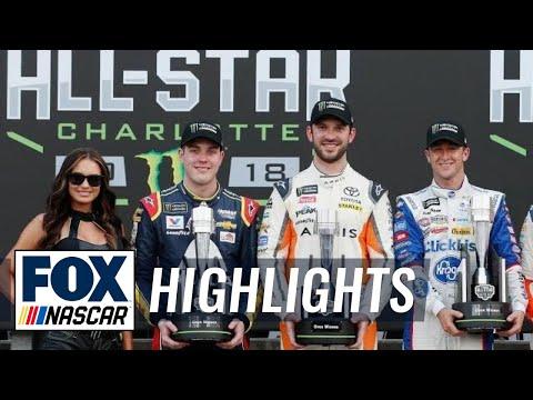 Bowman, Suárez, & Allmendinger win three Open transfer spots | 2018 All-STAR RACE | FOX NASCAR