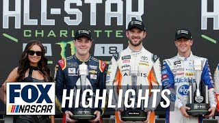 Bowman, Suárez, & Allmendinger win three Open transfer spots | 2018 All-STAR RACE | FOX NASCAR