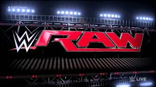 WWE  RAW New Bumper Theme Song - Denial by We Are Harlot with LYRICS
