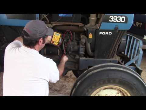 Ford New Holland Tractor Electric Fuel Shutoff - YouTube New Holland Wiring Schematic on