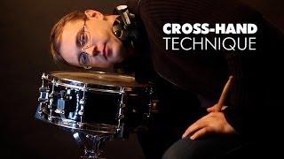 Cross-hand drumming technique, римшот и самое эффективное и приятное упражнение для барабанщиков