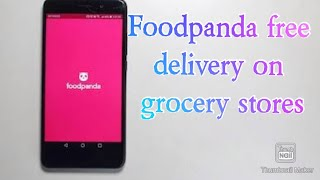 Foodpanda grocery store free delivery trick screenshot 3