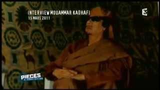 Sarkozy et la guerre en Libye: les révélations posthumes de Kadhafi