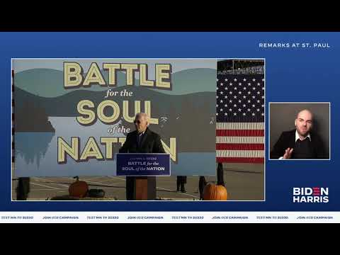 Joe Biden Speech LIVE in St. Paul, Minnesota | Joe Biden For President 2020