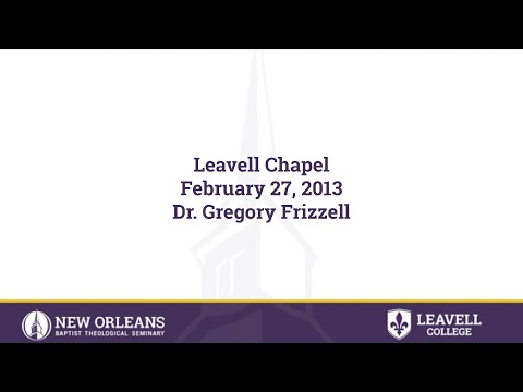 Acts 1:4 | Dr. Gregory Frizzell | 02-27-2013