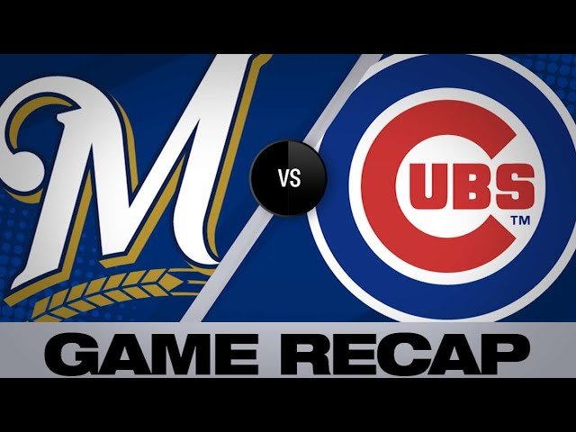 5/10/19: Braun, pitching lead Brewers to 7-0 victory