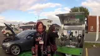Chronique 2 de filles de char électrique:  visite à l