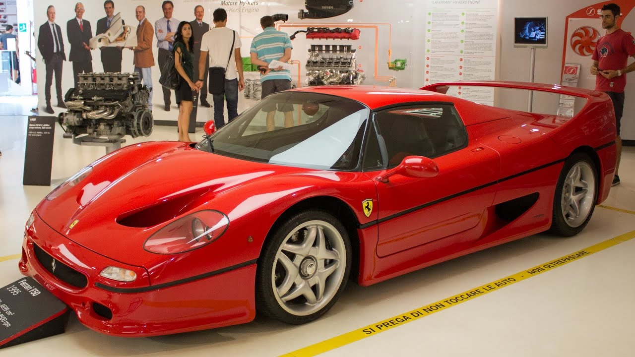 Ferrari f50 ferrari museum 2013 hq youtube vanachro Choice Image