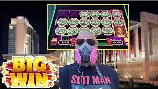 UNEDITED!⭐️MY DAY⭐️ AT CASINO DU LAC-LEAMY EPISODE 2 of 9! MIGHTY CASH BIG WIN $10 BET!