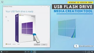 How To Make A Windows 10 Bootable USB Flash Drive Using Media Creation Tool for FREE