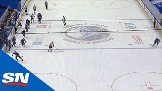 Sabres Receive Too Many Men Penalty After Having 10 Skaters On Ice