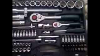 Набор инструментов из головок и ключей 12 граней FORCE, 82 предмета 4821R 9