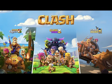 3 NEW CLASH Games Announcement! - Clash of Clans