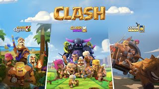 3 NEW CLASH Games Announcement!