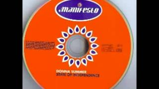 Donna Summer - State of Independence (alvearmpx mix)