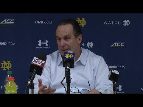 @NDMBB | Mike Brey Post-Game Press Conference vs. Illinois (2018)