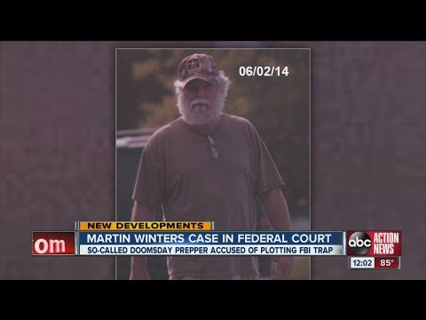 Martin Winters: So-called doomsday prepper case in federal court