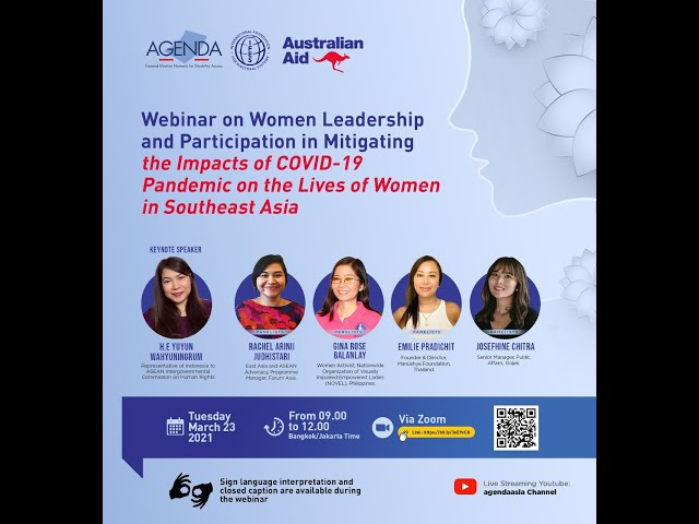Webinar on Women's Leadership and Participation IWD 2021