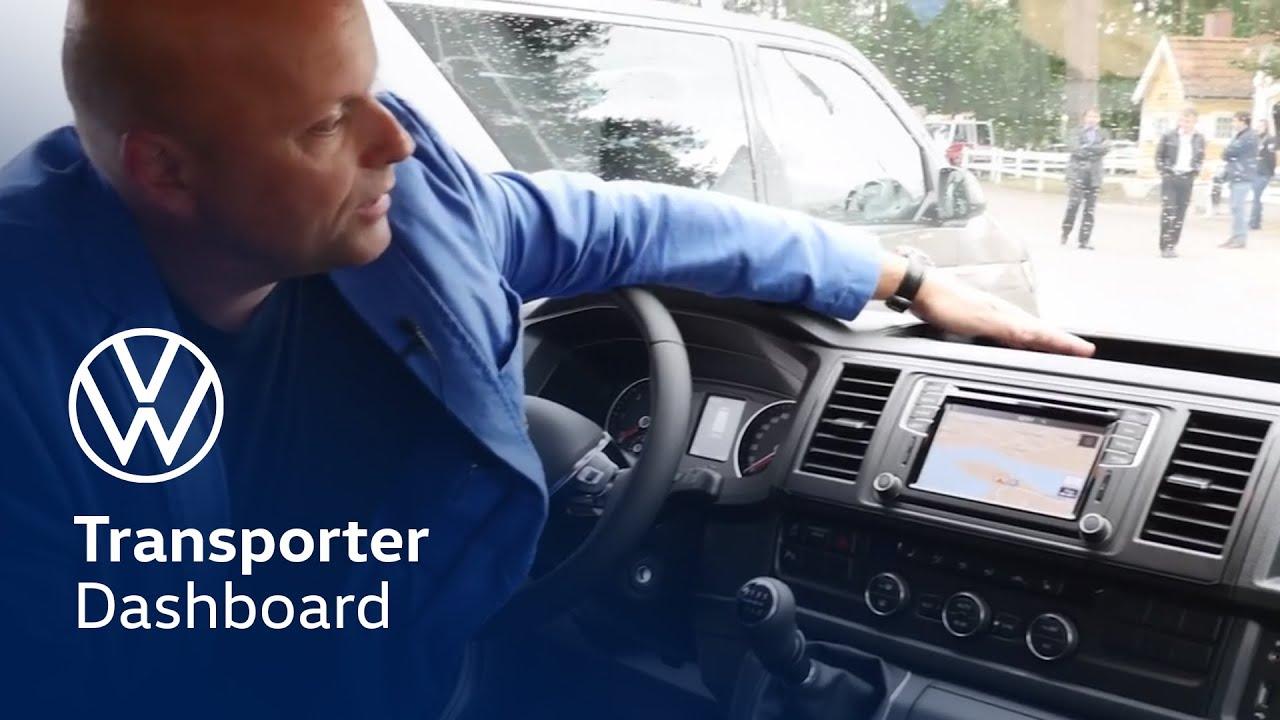 Vw Transporter T5 Radio Wiring Diagram Dual Car Stereo Xdm280bt De Nieuwe Volkswagen Dashboard Youtube