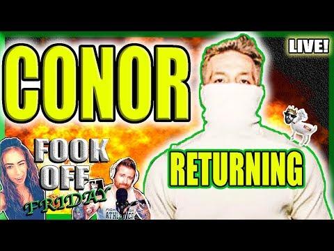 🔴CONOR MCGREGOR RETURNING??? + MMA TALK + THE POINTS GAME TIE BREAKER!