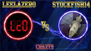 When engines go mad!!    Stockfish14 vs Leela chess Zero