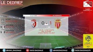 Le Débrief - Ligue 1 - J29 Lille/Monaco (0-1)