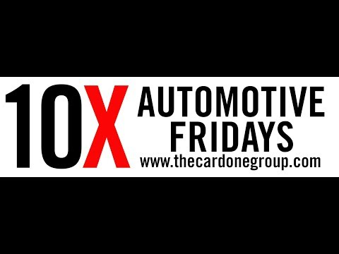Automotive Friday's Brought to You By The Cardone Group