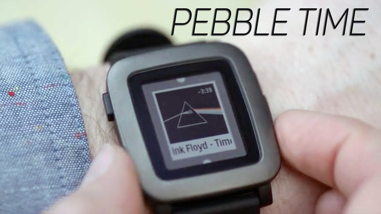 New pebble watch time pebble time pebble time kickstarter pebble time 2015 youtube for Pebble watches