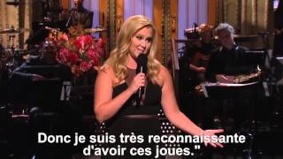 Amy Schumer on the Saturday Night Live (VOSTFR)