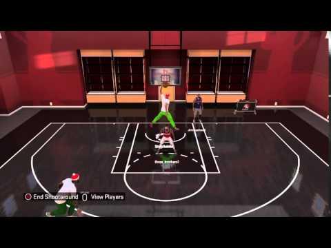 NBA 2K16 Jordan dunk over 6,4' pg