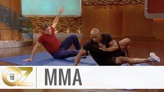 Simple Body-Sculpting Mixed Martial Arts Moves Anyone Can Do
