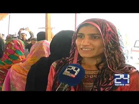 24 Report : Women participated in trial race of police department jobs in Sukkur