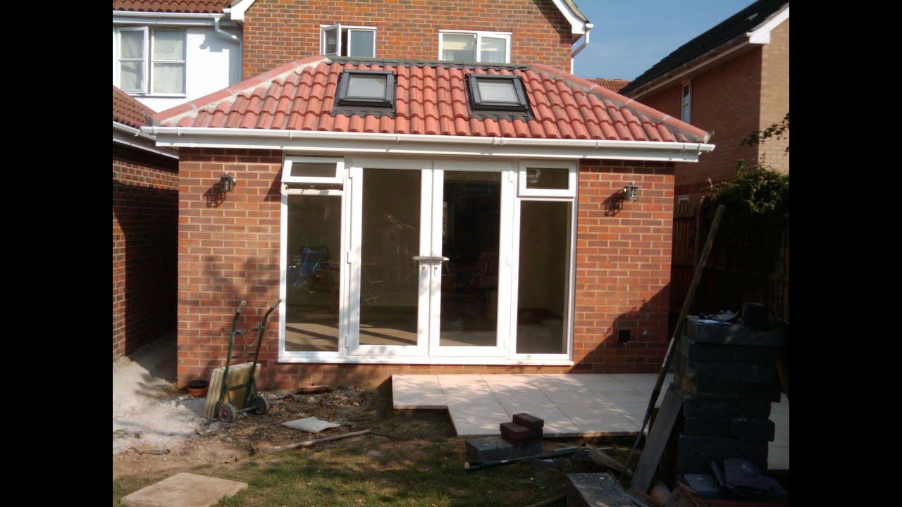 My single storey rear extension youtube for How much does a 2 story house cost