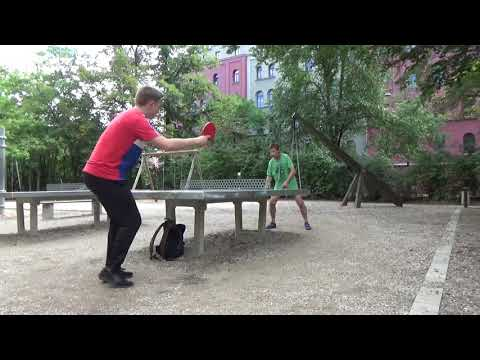Outdoor Tischtennis Steinplatte Steinbinder Vs Steinbrecher Fuerth Spielplatz Frauenschule Sonnenstr