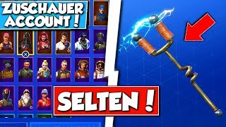 "Fortnite ""Season 2"" seltene SPITZHACKE ACCOUNT von ZUSCHAUER Bekommen! - Fortnite Battle-Royale"