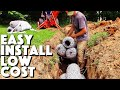 Replacing A Leach Field | Styrofoam Septic Drain Field Cost And Install