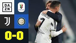 Nullnummer im Derby d'Italia - Juve im Finale: Juventus - Inter 0:0   Coppa Italia