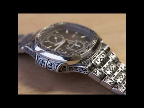 Patek Philippe Nautilus 5990 fully hand engraved