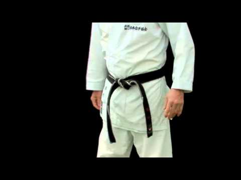 "Japan Karate Association (JKA) Australia Inc.,   ""HOW TO TIE A KARATE BELT"""