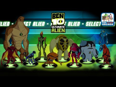 Ben 10 Ultimate Alien: The Ultimate Collection - Easy Mode Completed (Cartoon Network Games)