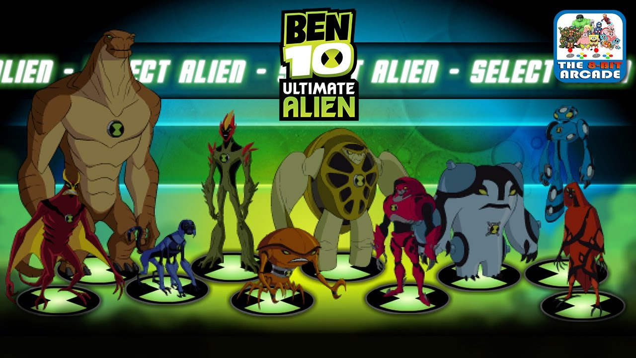 The Dulcie Reviews Ben 10 Ultimate Alien Online Games Cartoon Network