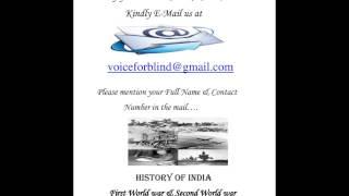 Details of First & Second World War (By Anita Sharma)