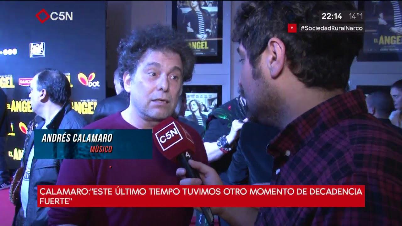 ADN: Habla Andrés Calamaro acerca de la situación del país