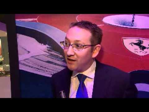 Jon Barber, Communications Manager, Ferrari World @ WTM 2011