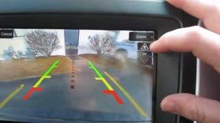 2012 ford fusion and ford explorer backup camera demonstration