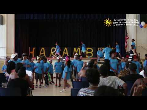 AIC Freedom School Finale: CHEERS AND CHANTS