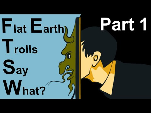 """What Every Troll in the """"FLAT EARTH DEBATE"""" Comments Regurgitates Part 1 thumbnail"""