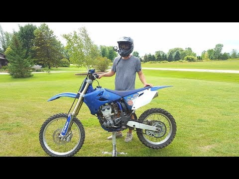 The Pure Torque MONSTER!!! Yamaha  Yz 250F First Ride
